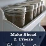 Make-Ahead And Freeze Green Smoothies #SilkSmoothie @lovemysilk #Silkbloom