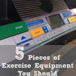 5 Pieces of Exercise Equipment You Should Have at Home