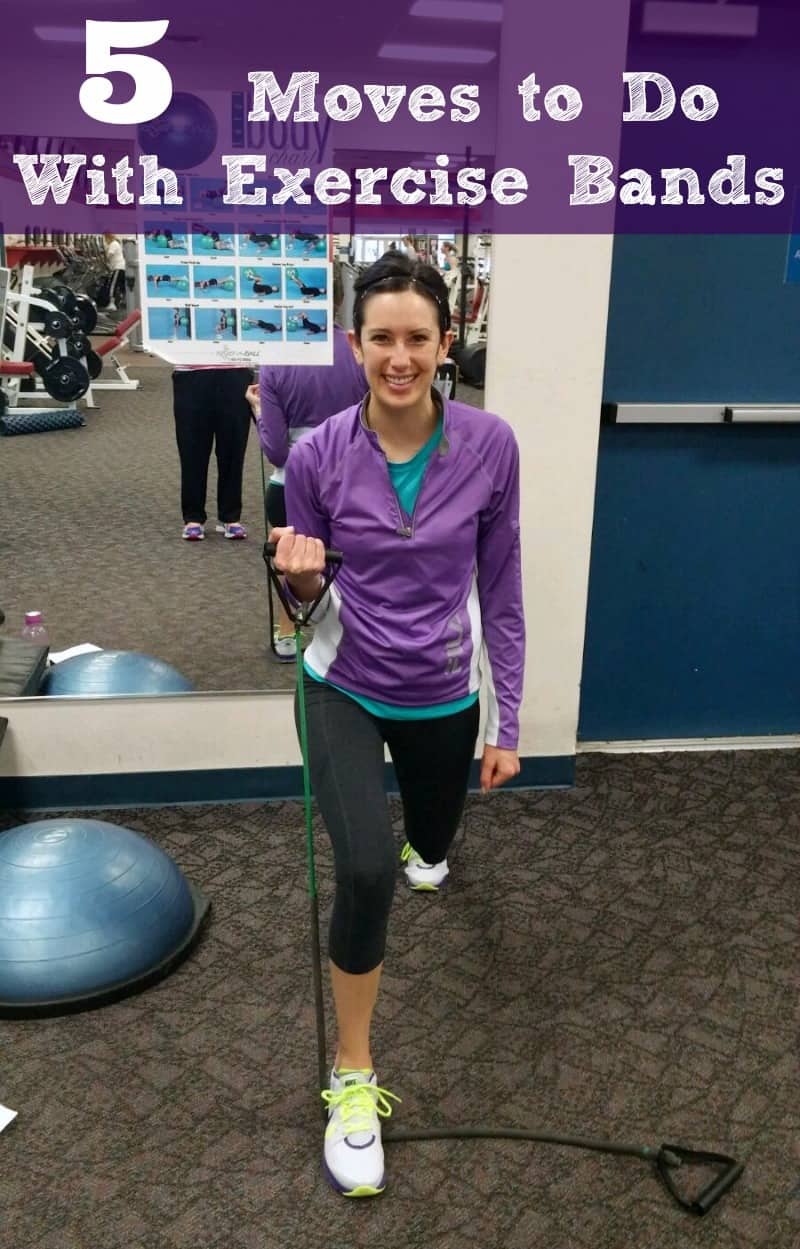 5 moves you can do with exercise band