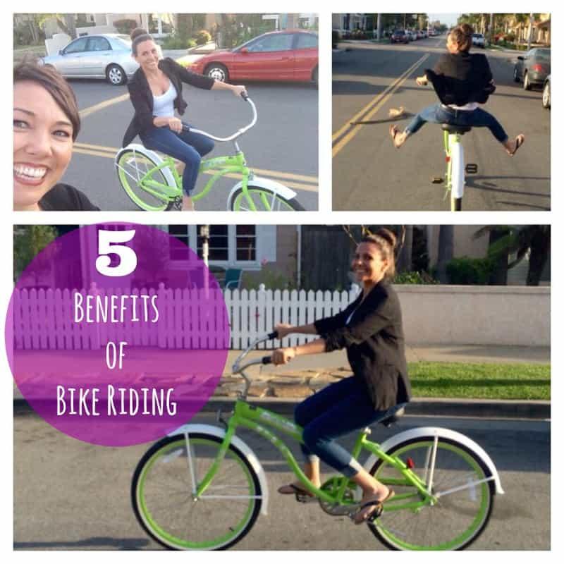 5 benefits of bike riding