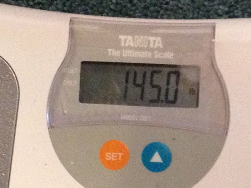 Weekly weigh In May 25th