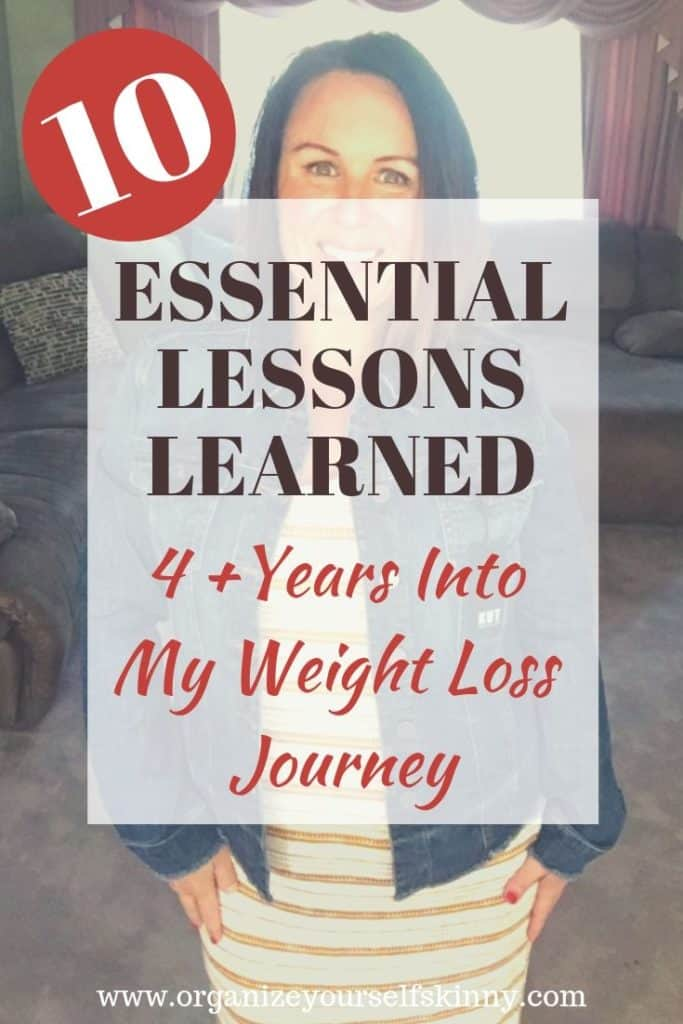 Weight Loss Lessons Learned