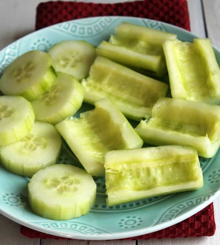 how to make cucumbers low lectin
