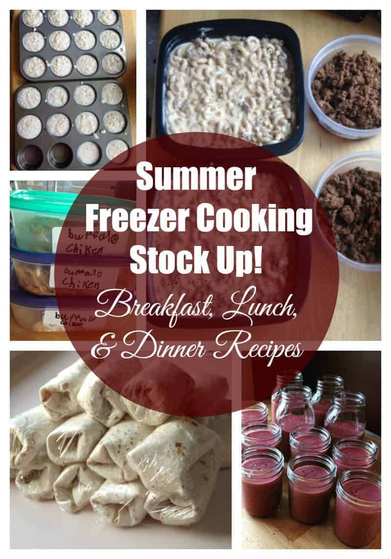 Summer Freezer Cooking Stock Up + How to Keep Track Of Your Freezer Meals