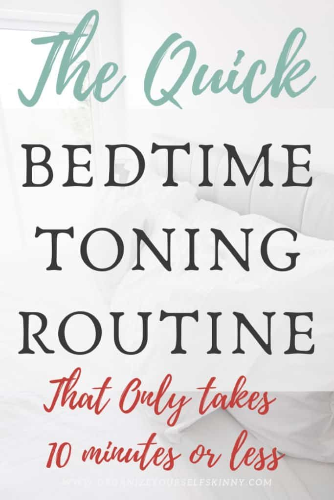 easy toning exercises. simple toning exercise that don't take a lot of time. easy exercise routine to do before bed. #toningexercises #exercise