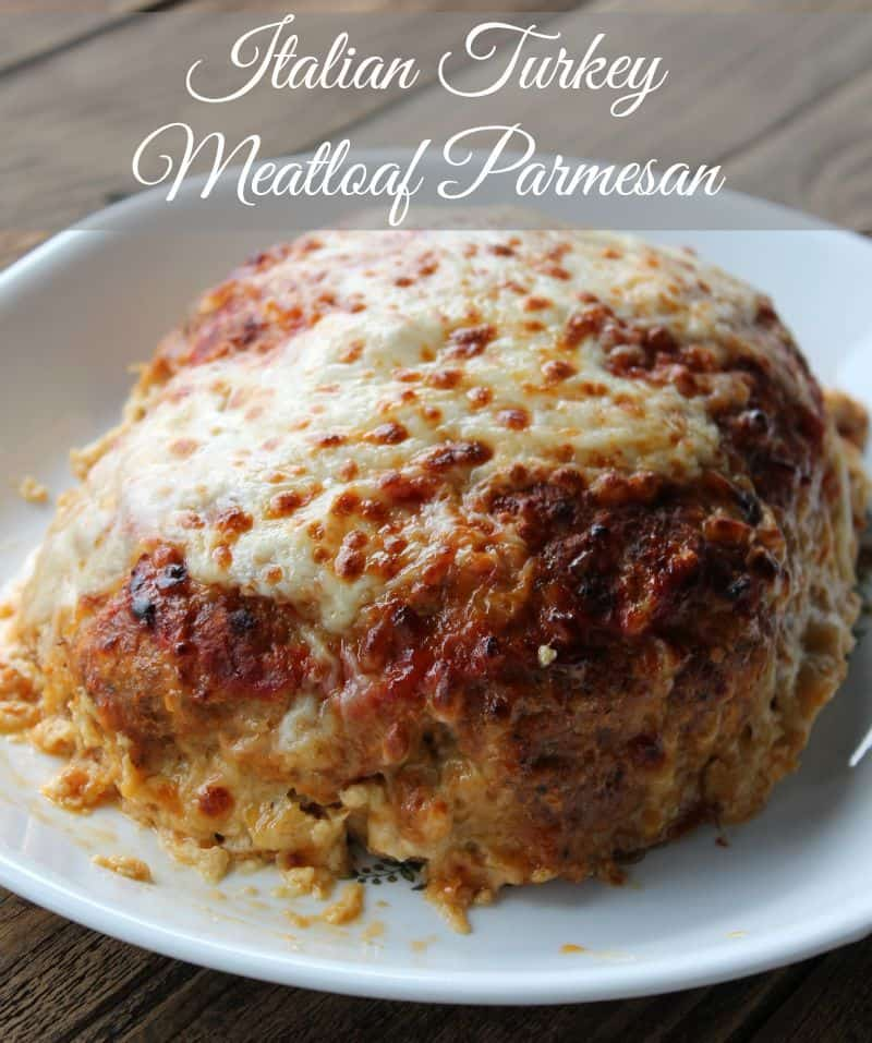 Italian Turkey Meatloaf Parmesan 250 calories and 7 weight watchers points plus
