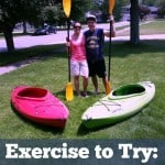 Exercise to try: Kayaking