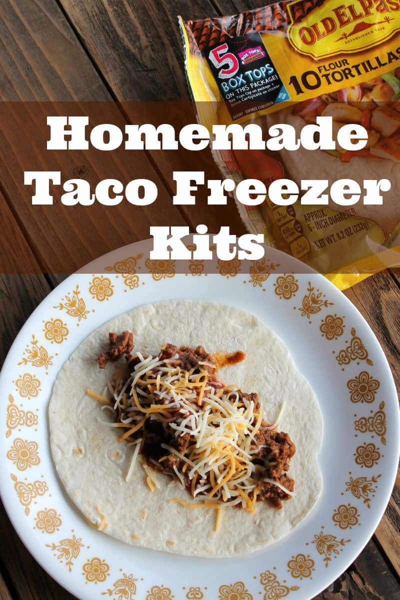 Homemade Taco Freezer Kits