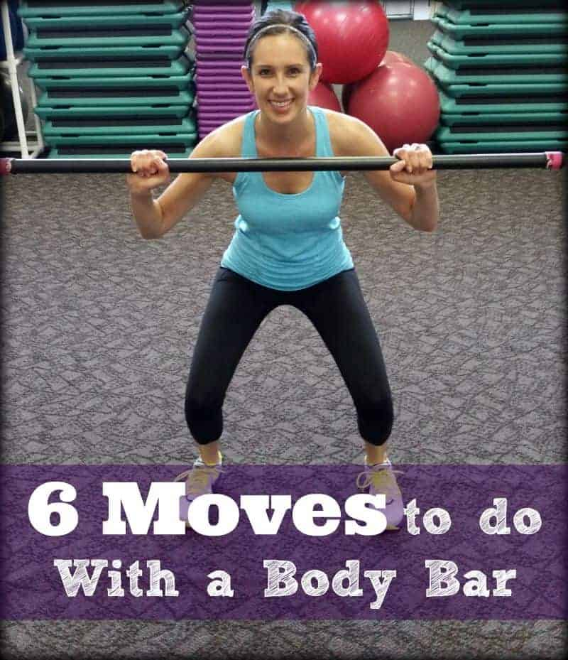 6 moves to do with a body bar
