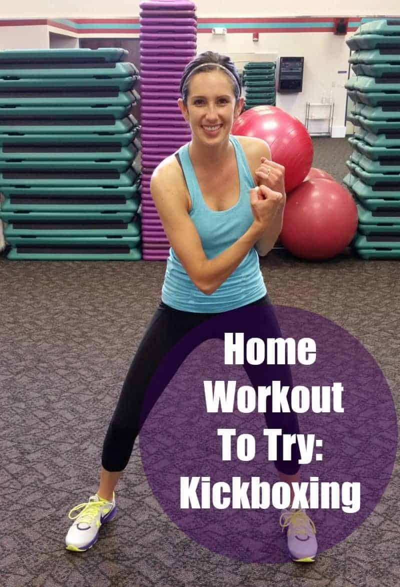 Home Workout to Try: Kickboxing