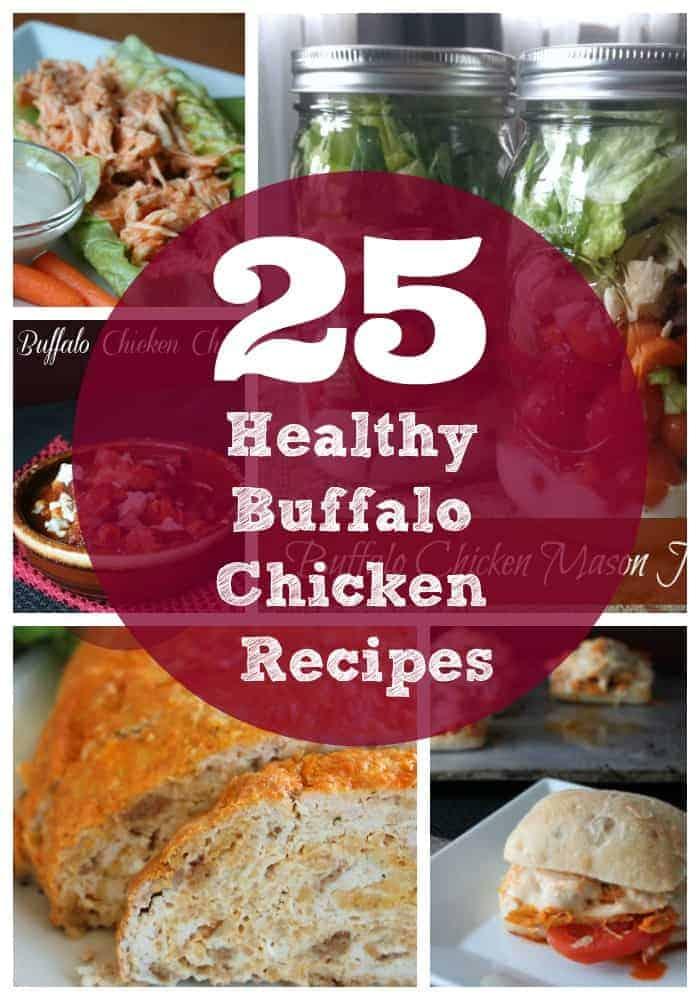 25 Healthy Buffalo Chicken Recipes
