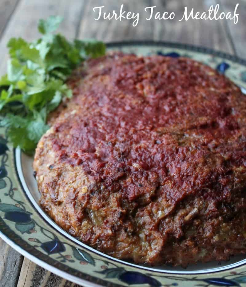 Turkey Taco Meatloaf Recipe 279 calories