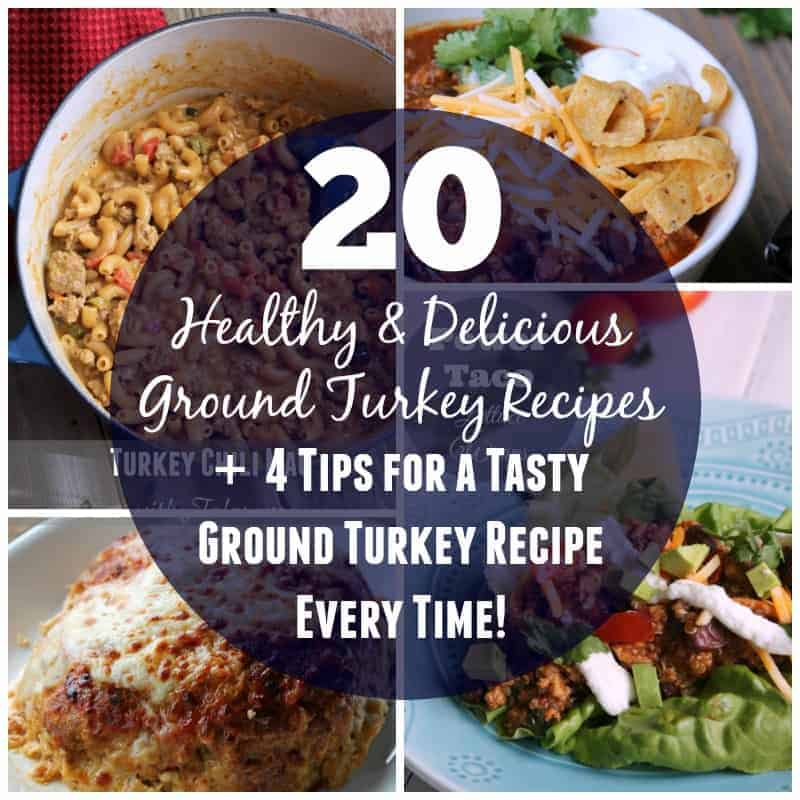 20 Healthy And Delicious Ground Turkey Recipes
