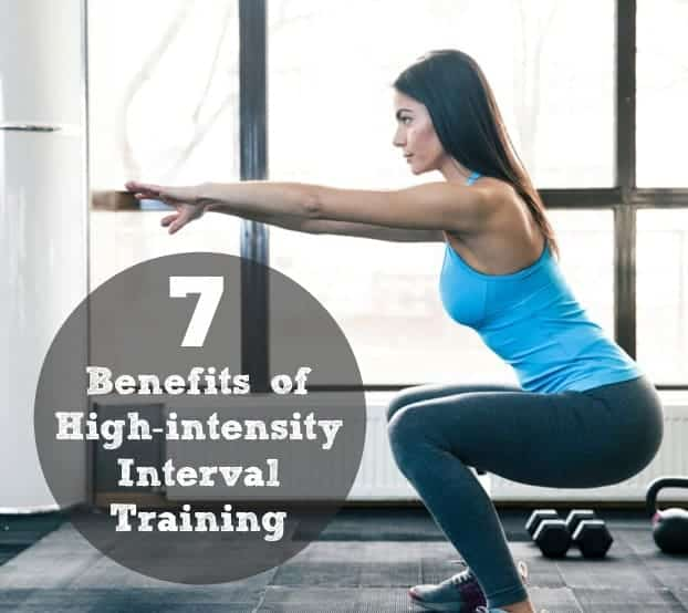 7 benefits of high-intensity interval training