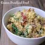 Kale and Bacon Quinoa Make-ahead Breakfast Bowl
