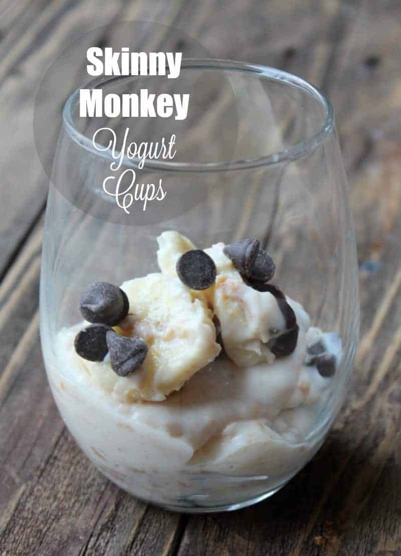 Skinny Monkey Yogurt Cup
