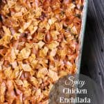 Spicy Chicken Enchilada Macaroni and Cheese