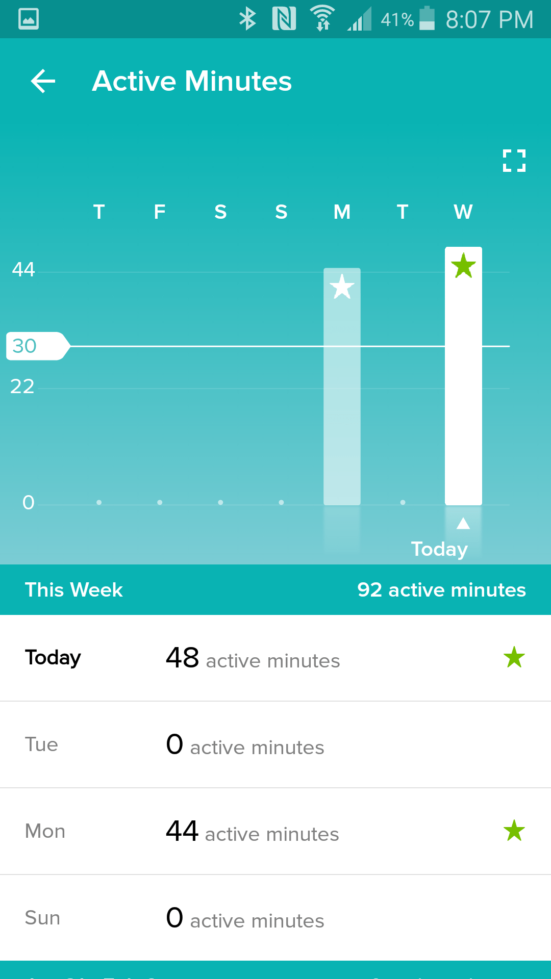 Fitbit Screenshot 5