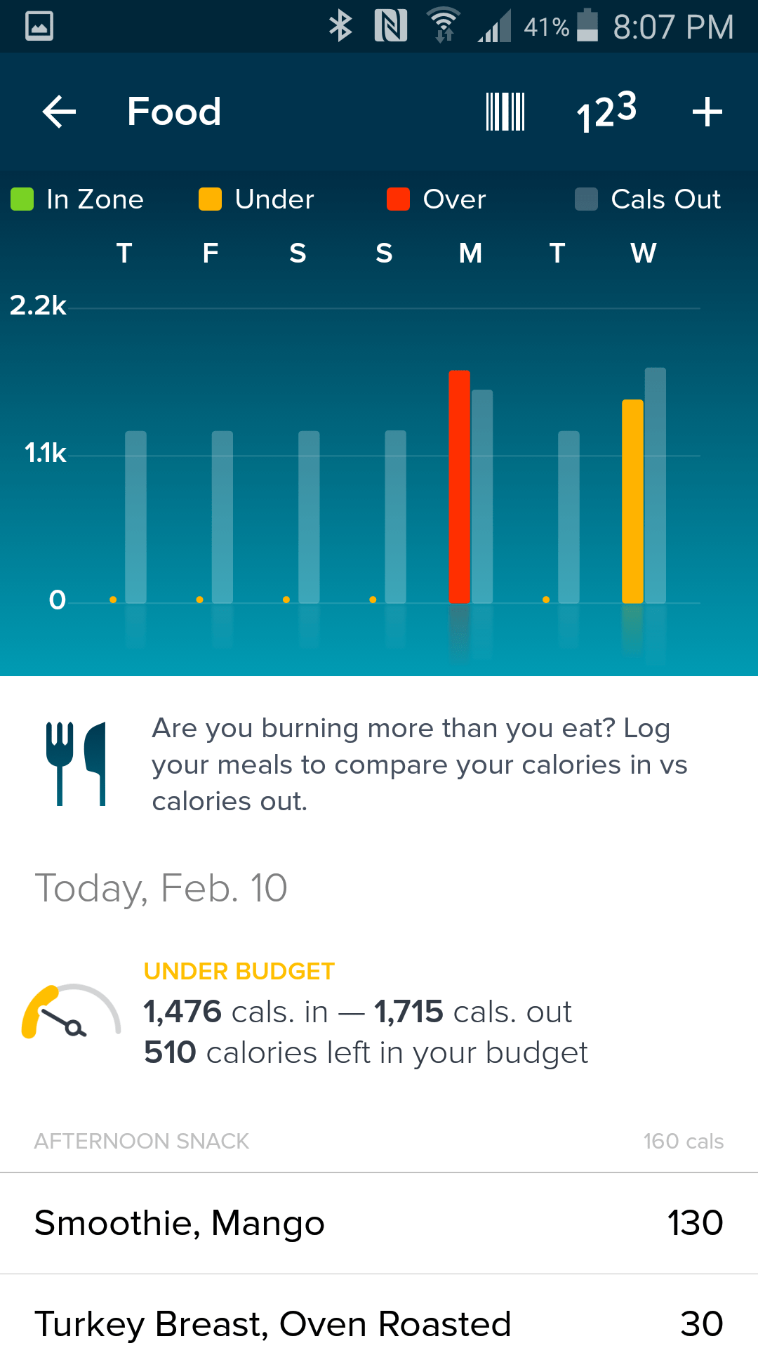 Fitbit Screenshot 8