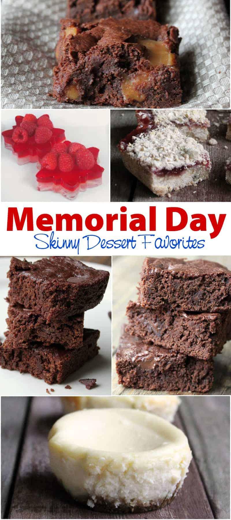 20+ Memorial Day Skinny Dessert Recipes