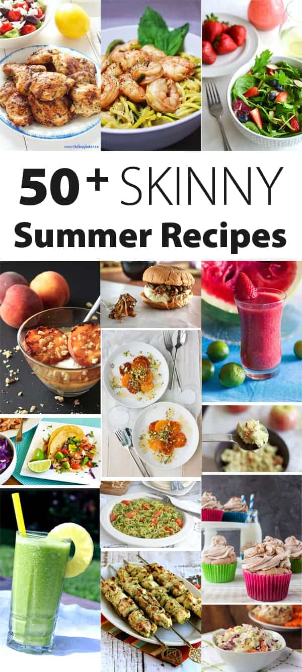 50+SkinnySummerRecipes