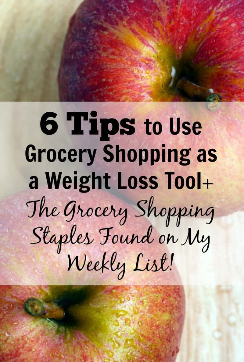 6 tips to use grocery shopping as a weight loss tool