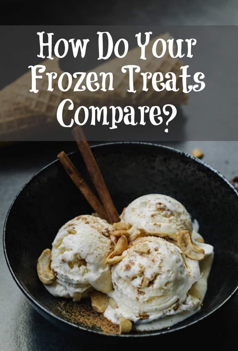 How Do Your Frozen Treats Compare