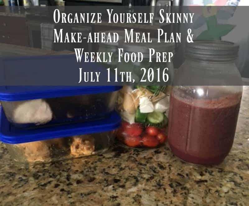 Make-ahead Meal Plan & Weekly Food Prep