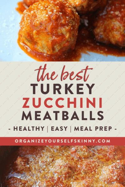 Healthy Turkey Zucchini Meatballs {With Video}