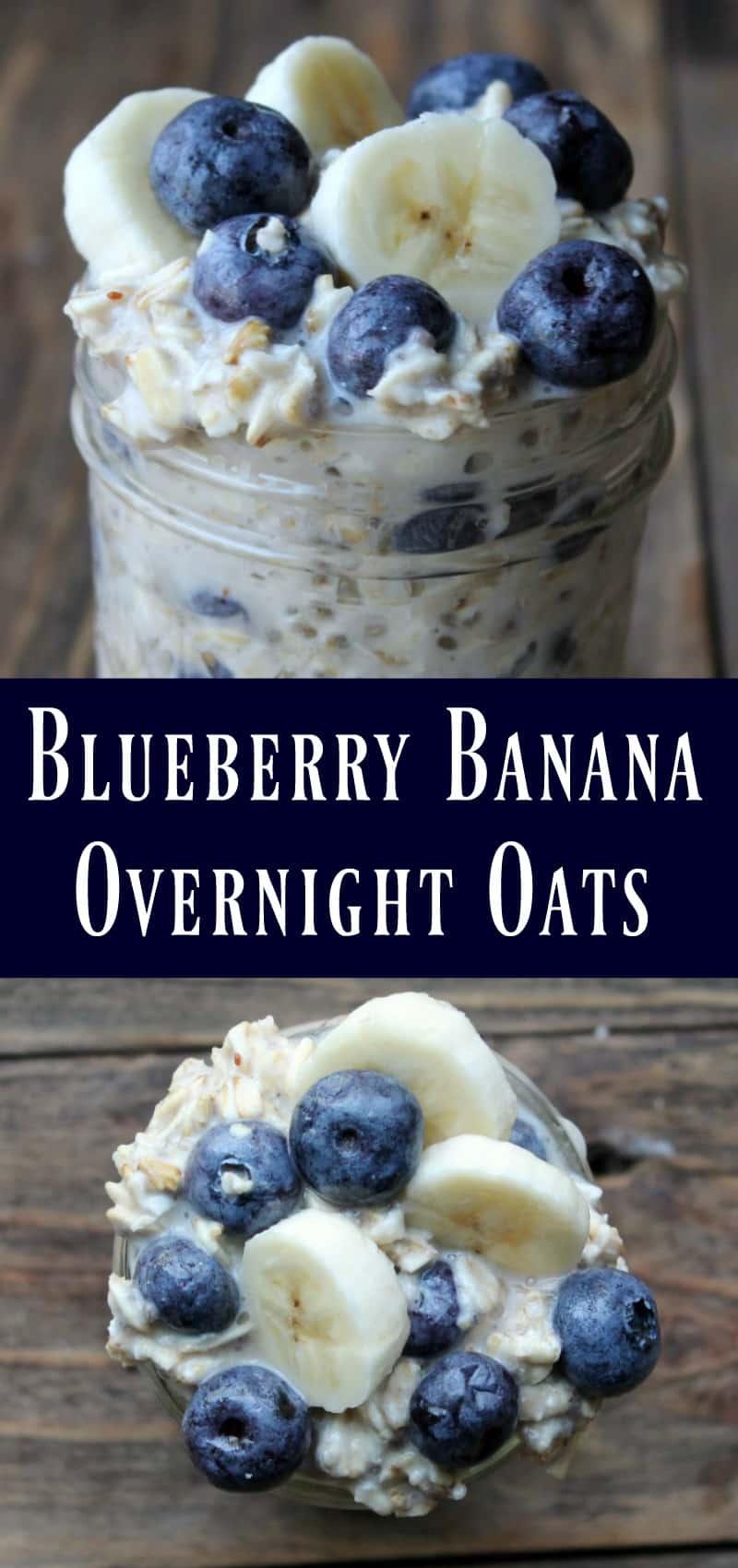 Blueberry-Banana Oatmeal Sundaes Recipe — Dishmaps
