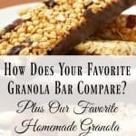 How Does Your Favorite Granola Bar Compare?