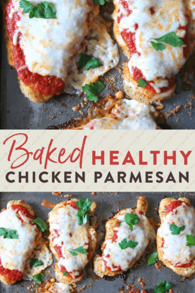 Baked Chicken Parmesan {With Video!}