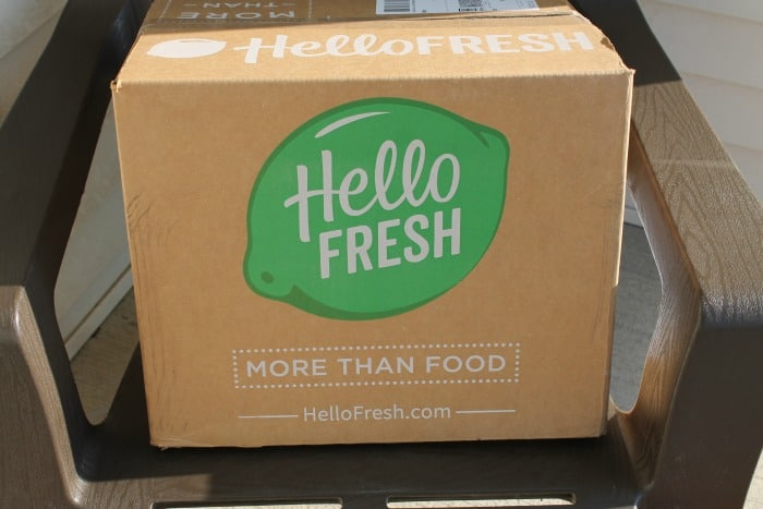 Hello Fresh delivery