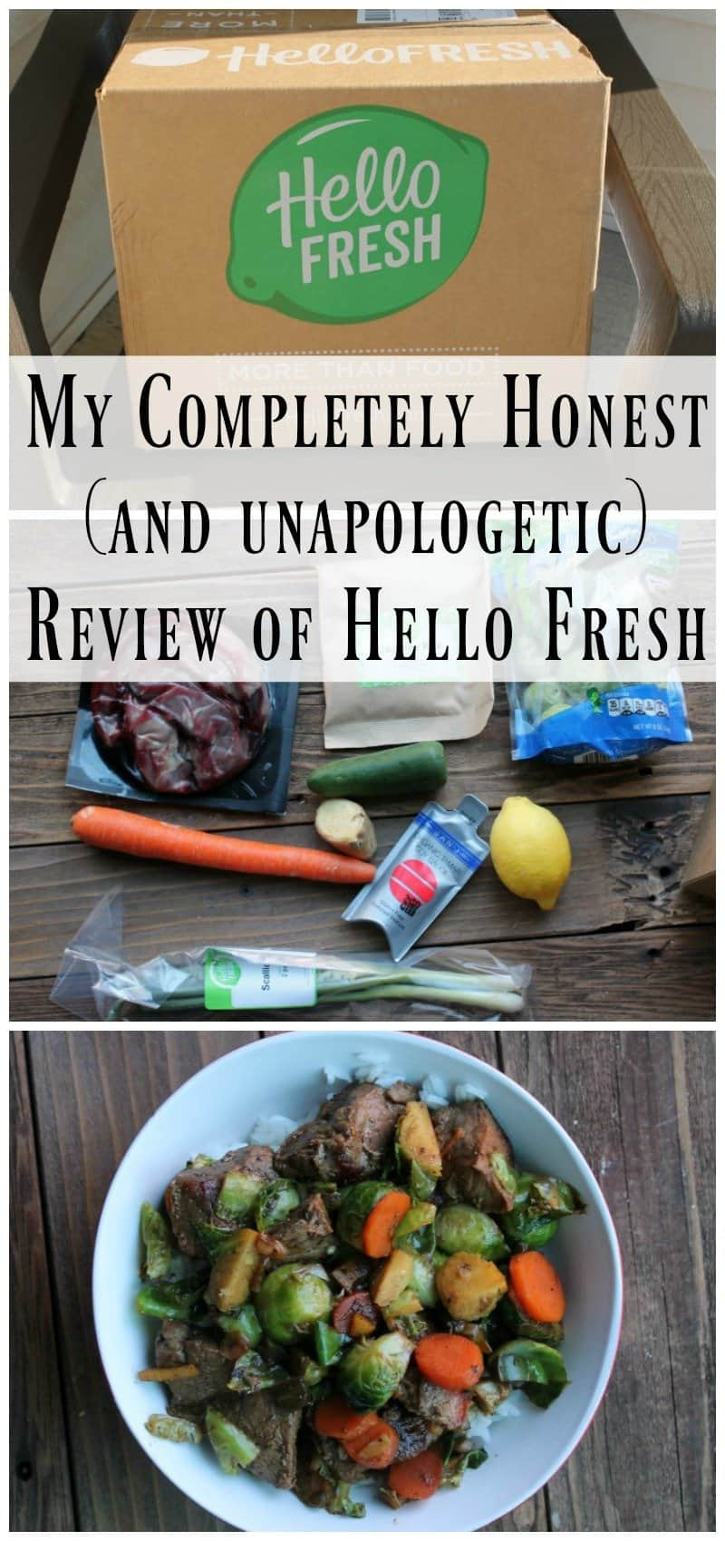 Hellofresh  Meal Kit Delivery Service Review 6 Months Later