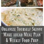 Make-ahead Meal Plan & Weekly Food Prep {October 31st, 2016}
