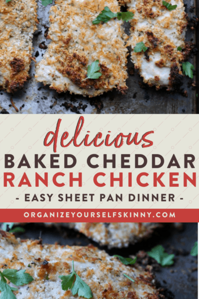 Baked Ranch Chicken Recipe {Healthy Sheet Pan Dinner}