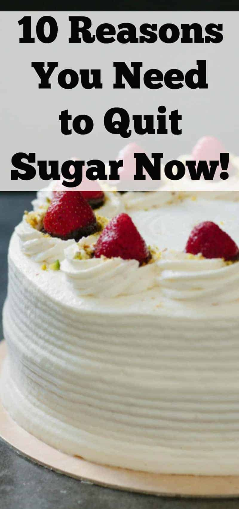 10 reasons you need to quit sugar now