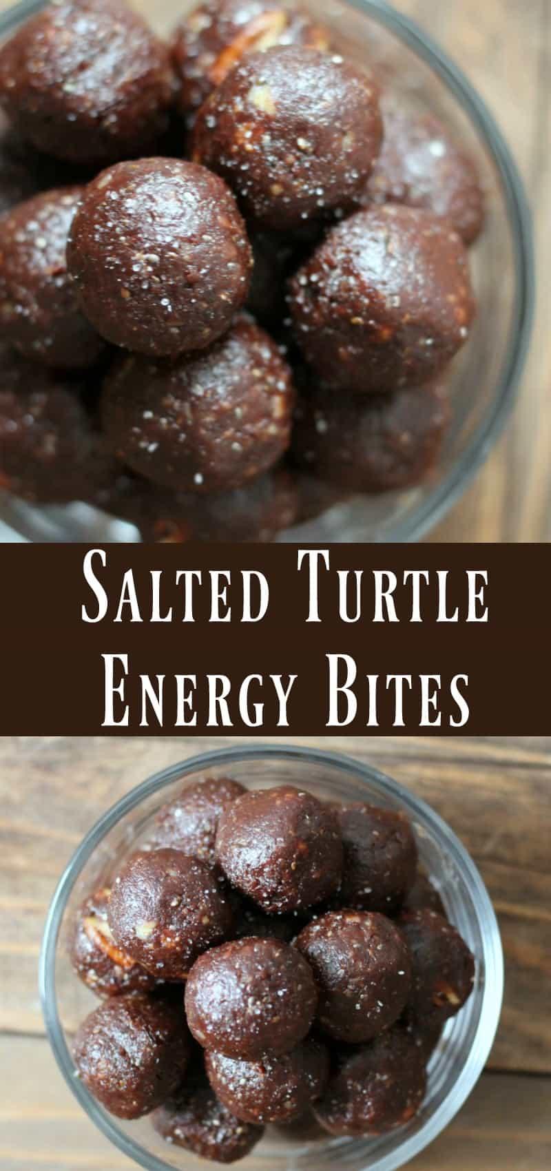 Healthy Salted Turtle Energy Bite recipe