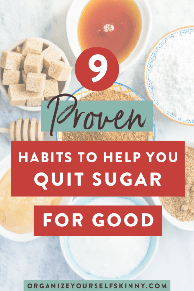 9 Habits That Will Help You Quit Sugar