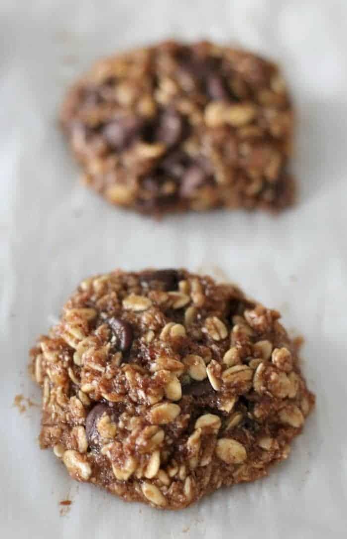 Banana Chocolate Chip Breakfast Cookie