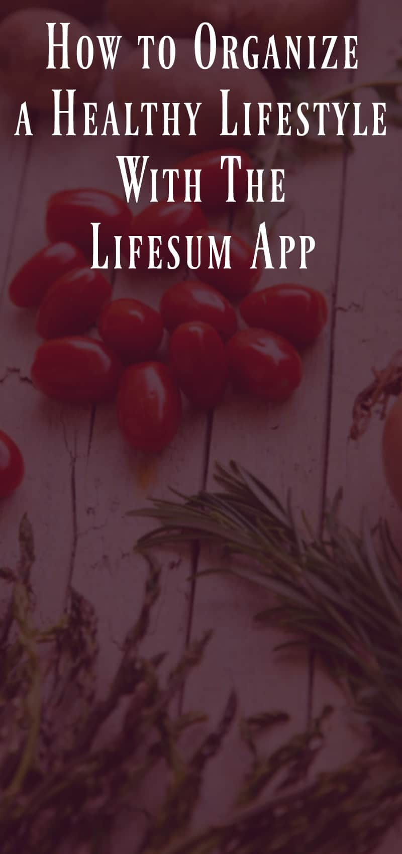 How to Organize a Healthy Lifestyle with The Lifesum App