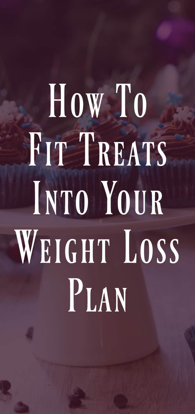 How to fit treats into your weight loss plan
