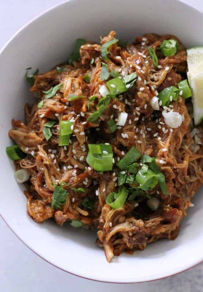 Healthy Slow Cooker Chicken Teriyaki