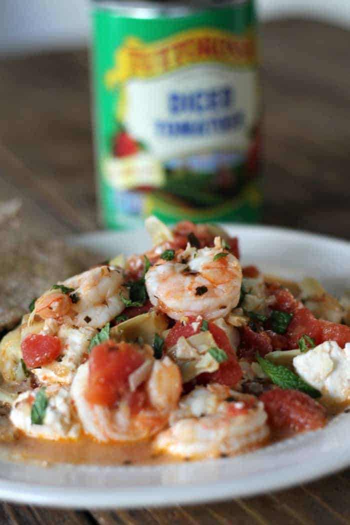 One-pot Greek Shrimp