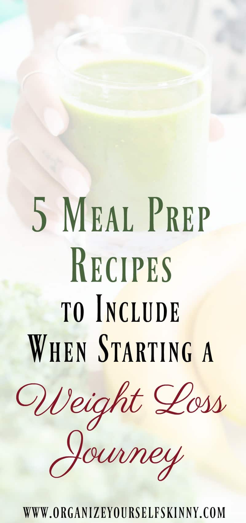 meal prep weight loss recipes