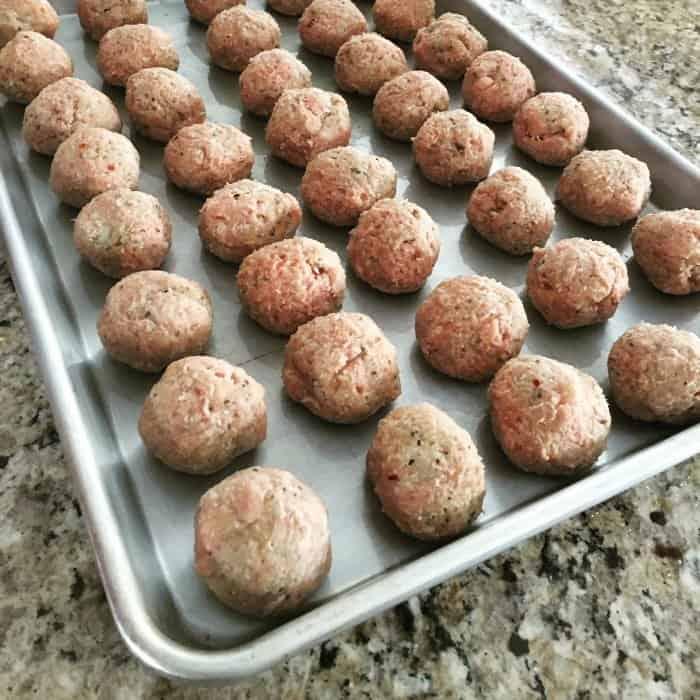 freeze meatballs