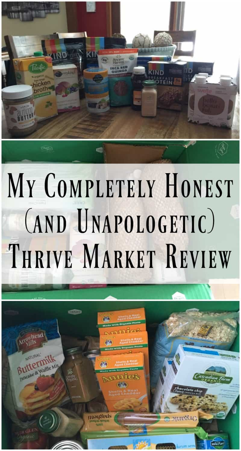 Honest Thrive Market Review