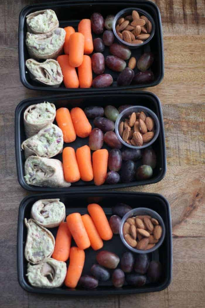 Healthy Meal Prep Tuna Salad Snack Box