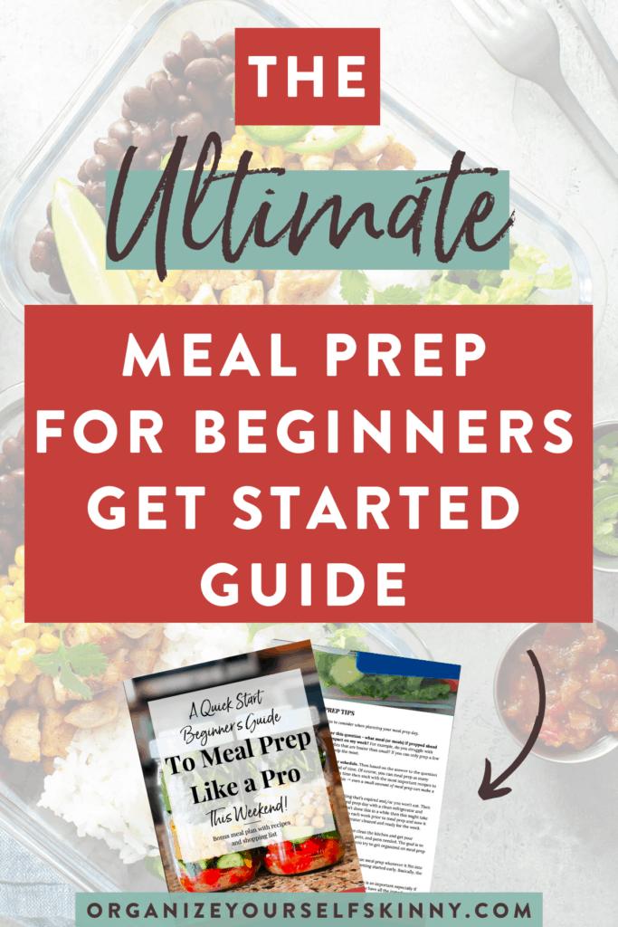 beginner meal prep