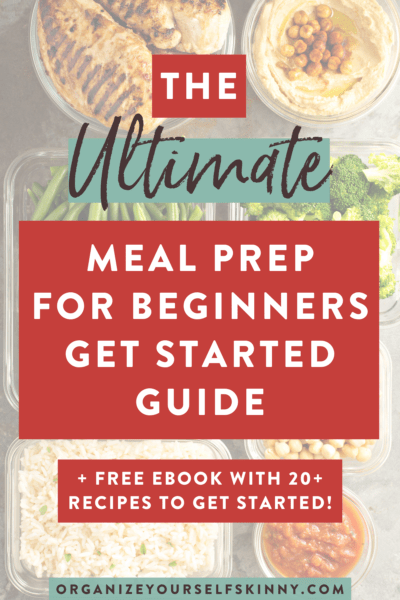 Beginner Meal Prep: THE BEST Guide to Getting Started
